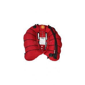 Wing DEEP OCEAN 42 Kg Rouge Simple vessie OMS