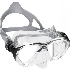 Masque BIG EYES EVOLUTION CRYSTAL CLEAR/ NOIR - CRESSI-