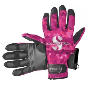 Gants TROPIC 1.5mm  SCUBAPRO Rose