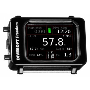 Ordinateur de plongée Freedom CCR Bottom Timer- Divesoft