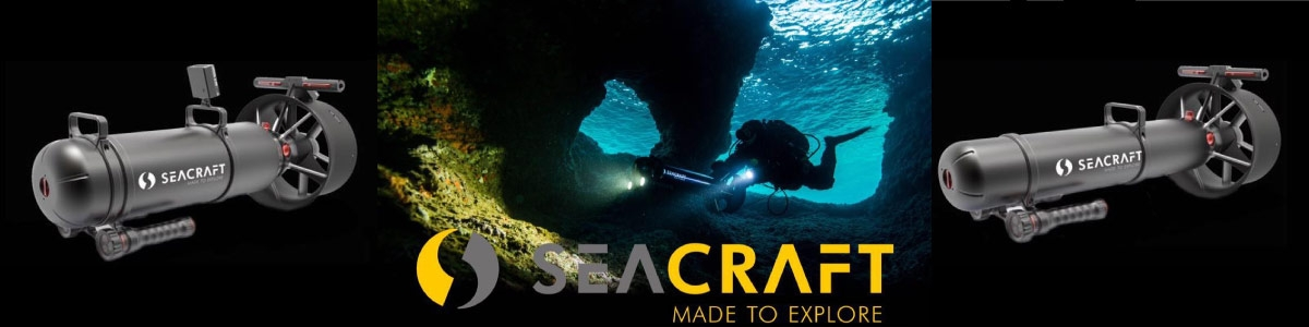 Seacraft Scooter sous marin - Diving Equpement